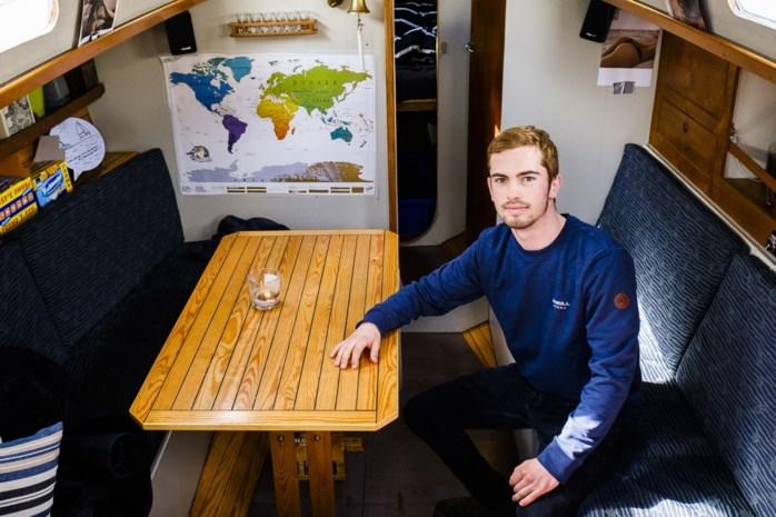 Emiel is kotstudent… op een zeiljacht aan het MAS