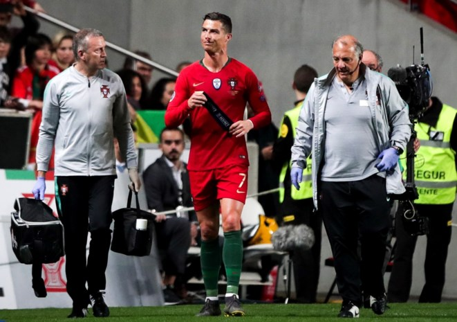 """Cristiano Ronaldo panikeert niet na blessure: """"Ik ken mijn lichaam"""""""