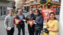 Sp.a voert actie voor 'rechts afslaan door rood voor fietsers'