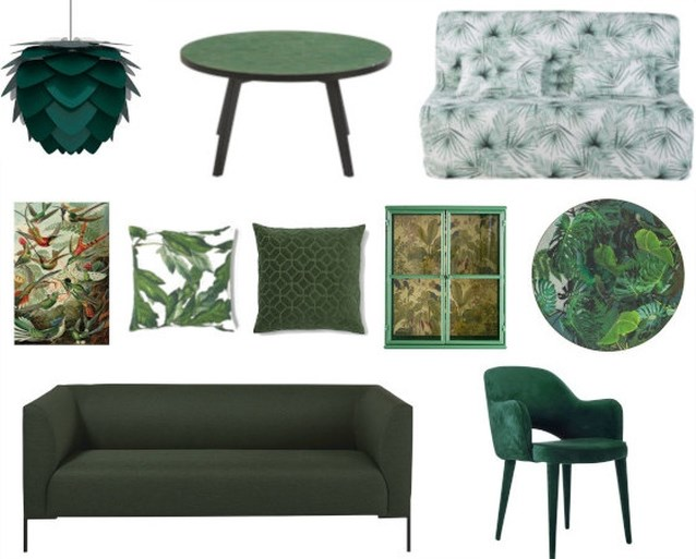 Een zomers interieur? Haal de jungle in huis