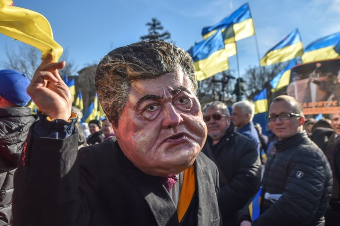 Verkiezingen in Oekraïne volgen scenario van populaire sitcom: komiek die president speelt, wordt het vermoedelijk ook