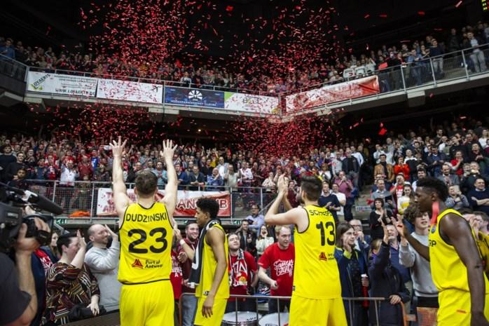 """Antwerp Giants winnen van Nizhny Novgorod in kolkende Lotto Arena: """"Dit is een van die uitzonderlijke avonden als fan"""""""