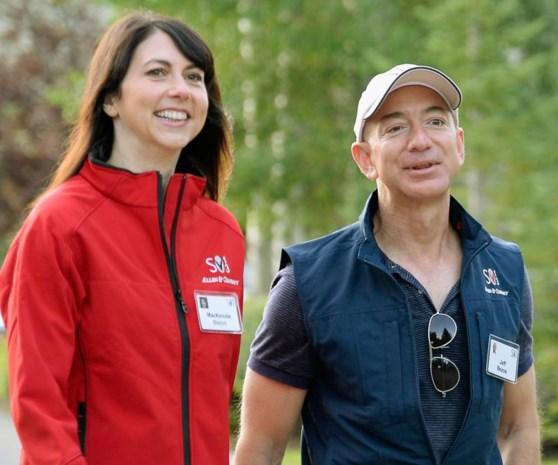 MacKenzie Bezos: na scheiding van Amazon-eigenaar Jeff Bezos plots 32 miljard rijker