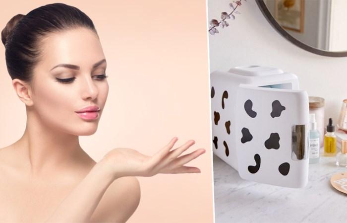 Bloggers bewaren beautyspullen in een kleine koelkast. Maar heeft dat zin?