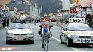 """25 jaar geleden won Peter Van Petegem met Scheldeprijs zijn eerste profwedstrijd: """"Misschien wel mijn belangrijkste zege"""""""