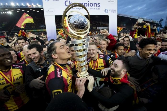 """Stadsbestuur verplaatst officiële huldiging KV Mechelen naar zondag 5 mei: """"Geen capaciteit voor 20.000 fans"""""""