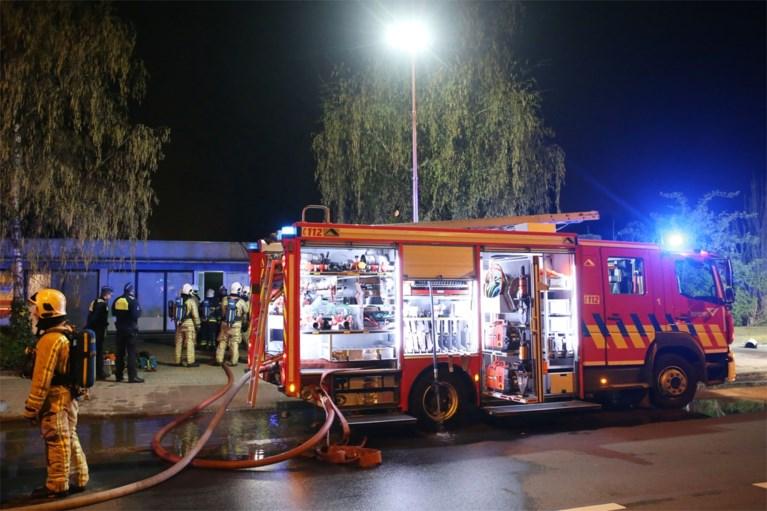 Plantage ontdekt bij brand in voormalige bakkerij