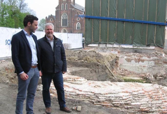 """Gemeente koopt archeologische vondst  in Kerkstraat dan toch niet: """"Te duur"""""""