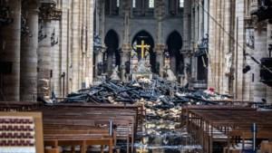 360° opname en dronebeelden tonen ravage aan Notre-Dame