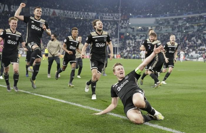 Juventus keldert op de beurs na kwartfinale Champions League, Ajax-aandeel stijgt fors