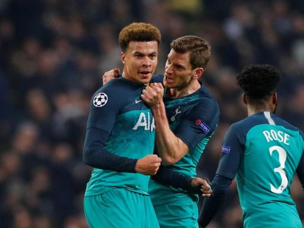 Spektakel in Champions League: Tottenham na sensationeel scoreverloop voorbij Manchester City naar halve finale tegen Ajax