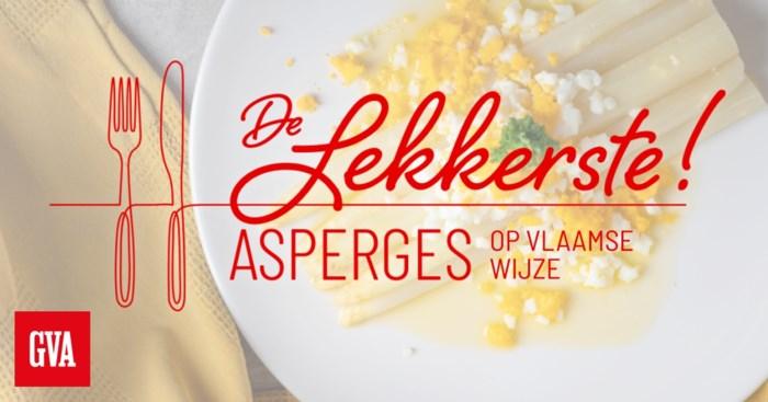 Waar eet je de lekkerste asperges op Vlaamse wijze? Dit zijn jullie favorieten