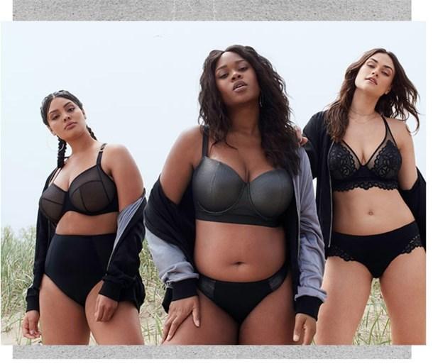 """Lingeriemodel Myla Dalbesio ontwerpt lijn voor dames met rondingen: """"Ik was het beu dat mijn boezem niet in een badpak paste"""""""