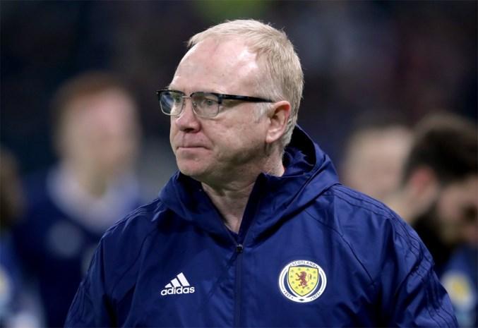 Alex McLeish ontslagen: wie coacht Schotland tegen de Rode Duivels?