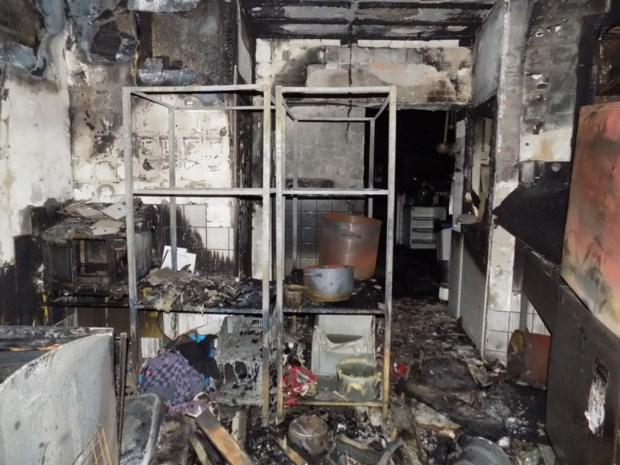 Brand bij Italiaans restaurant in Geel