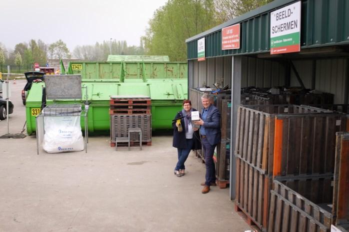 Mobiel recyclagepark komt naar inwoners toe