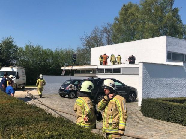 Werking bij dierenkliniek even stilgelegd na brand