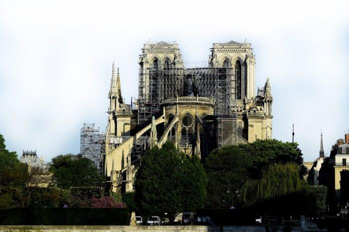Brand Notre-Dame was wellicht het gevolg van een elektrische kortsluiting