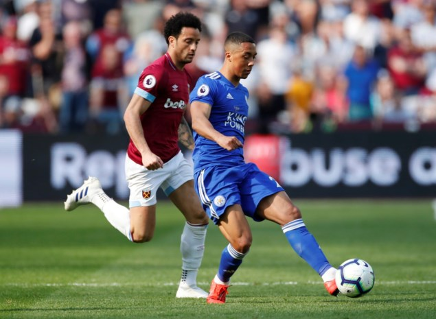Nieuwe assist van Youri Tielemans helpt Leicester City aan een punt tegen West Ham