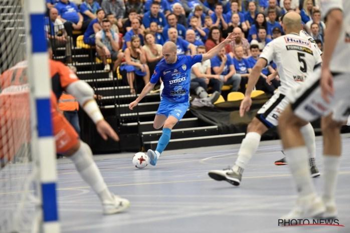Halle-Gooik overklast Antwerpen en wint vierde keer Beker van België futsal