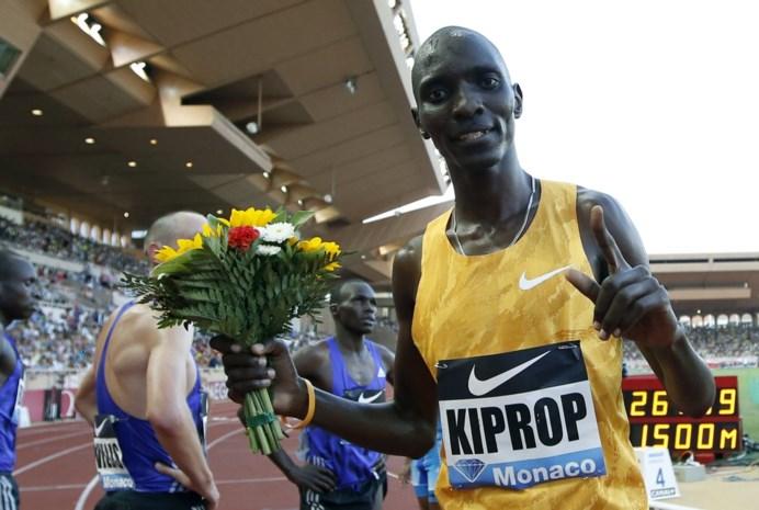 Voormalig olympisch en wereldkampioen Asbel Kiprop krijgt vier jaar schorsing
