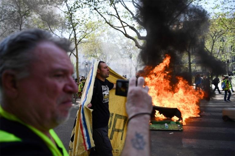 27.900 manifestanten in heel Frankrijk, veel rellen in Parijs