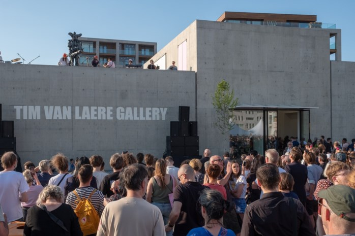 """Nieuwe Tim Van Laere Gallery opent de deuren op Nieuw Zuid: """"Dit is echt onze plek"""""""