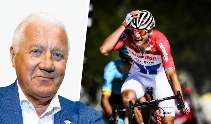 """Patrick Lefevere is onder de indruk: """"Mathieu van der Poel is een superfenomeen"""""""