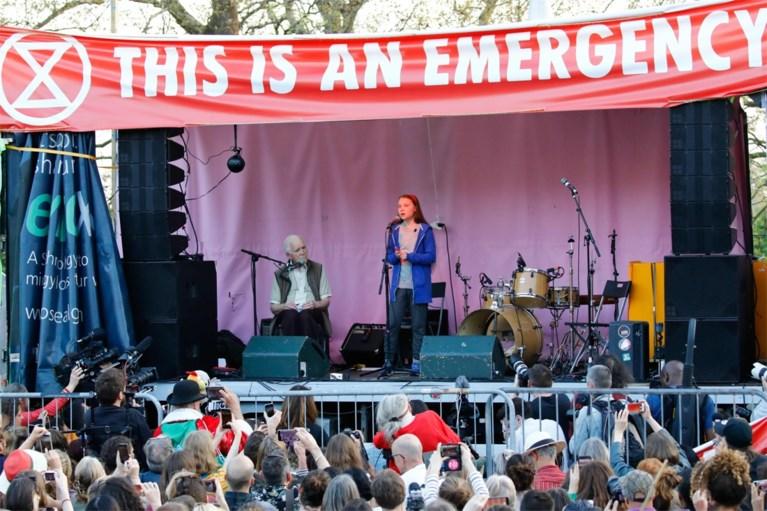 """Greta Thunberg: """"Politici die niets doen gaan er niet mee wegkomen"""""""