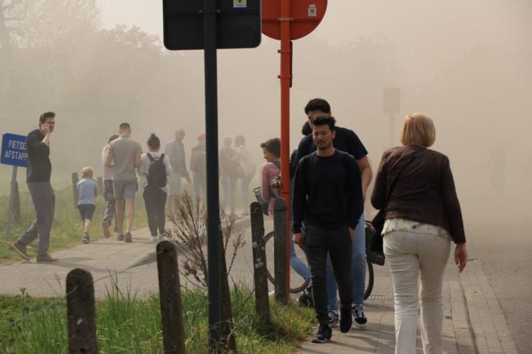 Hevige brand in Beverse woning: geen zwaargewonden