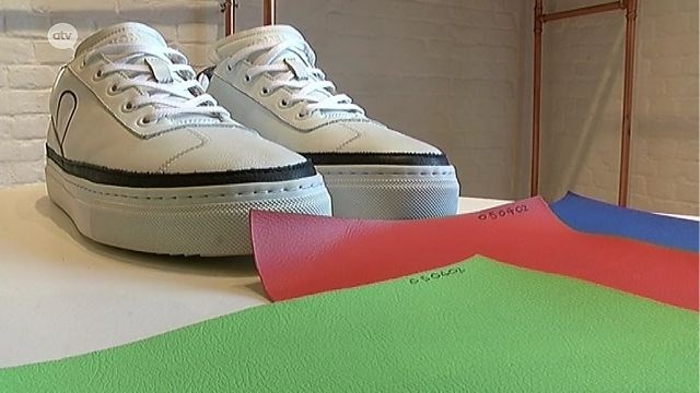 Ecologisch van kop tot teen: Antwerps merk kan schoenen maken uit afval van appelen