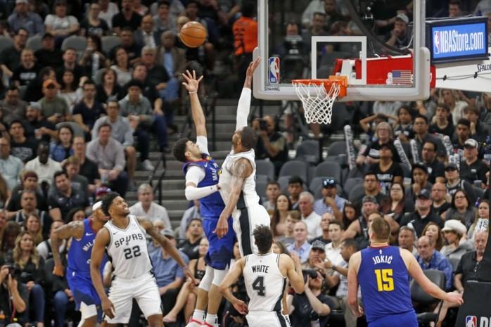 NBA. San Antonio dwingt beslissend duel af tegen Denver