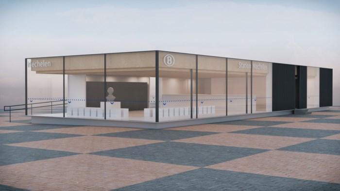 NMBS bouwt tijdelijke lokettenzaal voor Mechels station