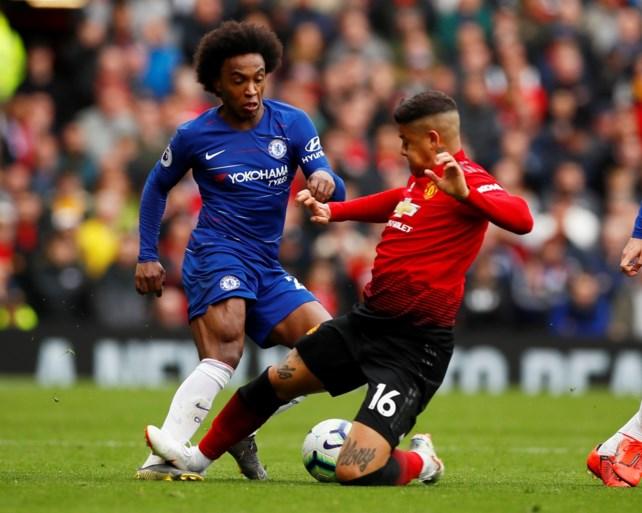 Chelsea gaat met punt lopen bij Manchester United dankzij flaterende De Gea