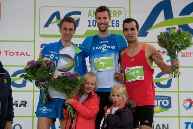 """'Mister Antwerp 10 Miles' Nick Van Peborgh wint voor de zesde keer: """"Morgen zo ziek als iets, maar dat heb ik er voor over"""""""
