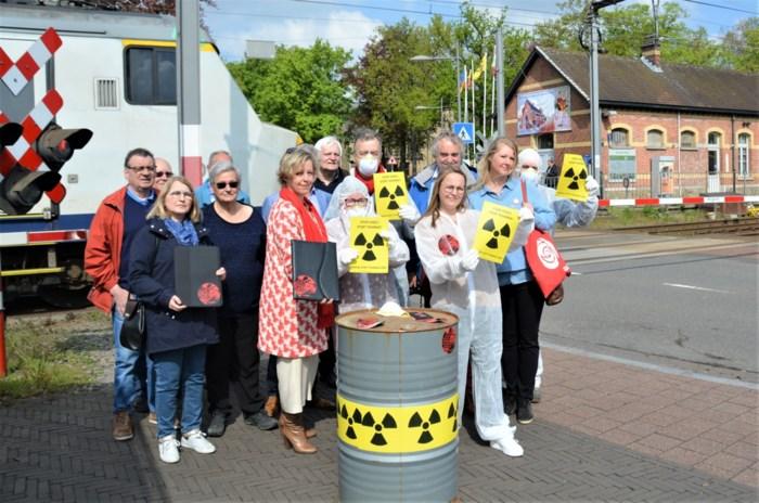 Sp.a wil geen nucleair transport over spoor