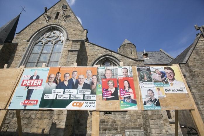 Partijen moeten affiches opnieuw plakken