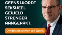 Onlinecampagne Geens over seksueel geweld stopgezet