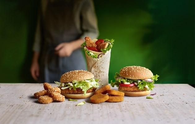 McDonald's maakt menukaart een stuk vegetarischer