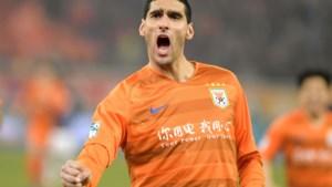 Marouane Fellaini kopt zijn Chinese club in extremis naar volgende ronde in Aziatische Champions League
