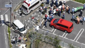 Twee Japanse peuters overleden nadat wagen inrijdt op groep kinderen