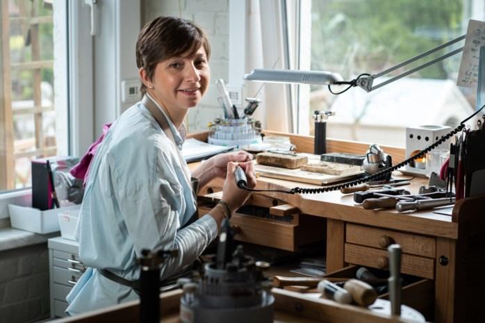 Inneke van Simple comme Bonjour is ambassadrice van Handmade in Belgium