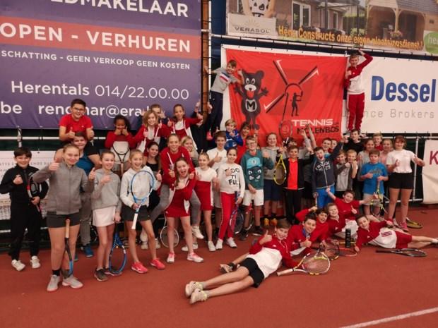Tennisclub Molenbos rondt magische kaap van 1.111 leden