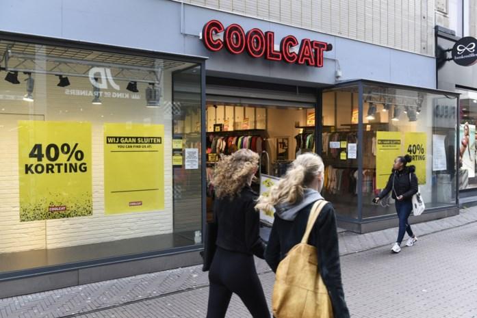 CoolCat winkels dicht, webshop blijft bestaan