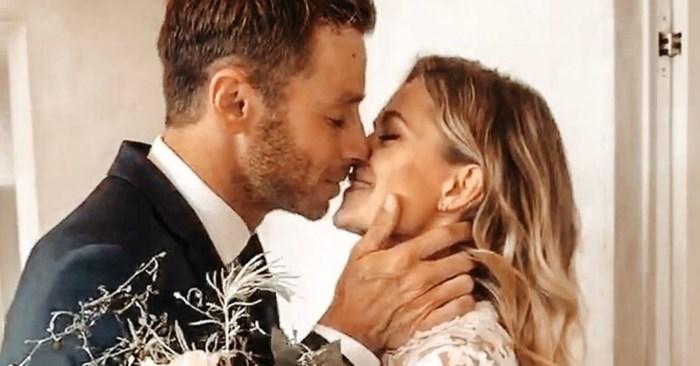 """Louis Talpe (37) is getrouwd: """"Meet my wife"""""""