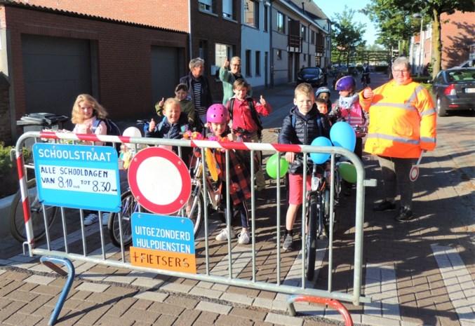 Omgeving Klim Op veiliger door schoolstraat