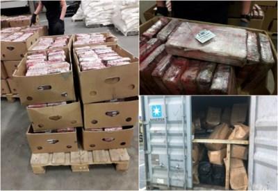 Onderzoek uithalersbende: 1.345 kilo coke in container, 13 kilo in lockers personeel