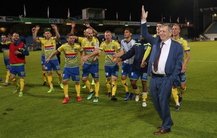 Supporters van Westerlo bedanken Herman Wijnants