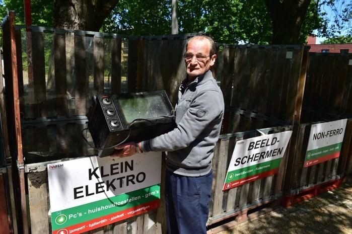 Mobiel recyclagepark rijdt zelf naar inwoners in Mechelen en Willebroek