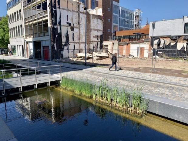 Muntstraat jaar lang afgesloten voor bouw serviceflats